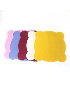 Салфетки для стоматологической чаши плевательницы из спанбонда, разноцветные (50шт в упаковке)