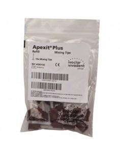 Смешивающие насадки для диспенсера Apexit Plus, 15 шт.
