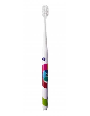 "Зубная щетка MontCarotte ""Иттен"", мягкая, 0,15 мм"