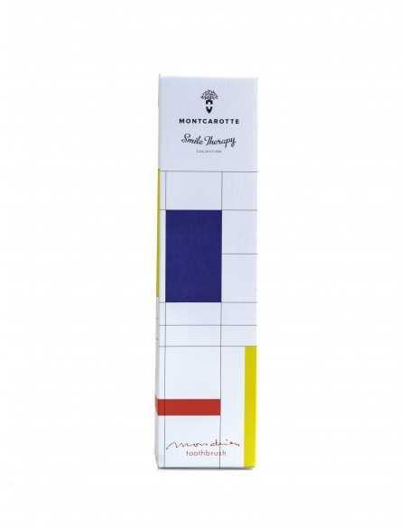 "Зубная щетка MontCarotte ""Мондриан"", мягкая, 0,15 мм"