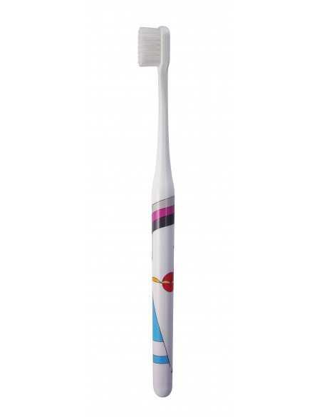 """Зубна щітка MontCarotte """"Кандинський"""", м'яка, 0.15 мм"""