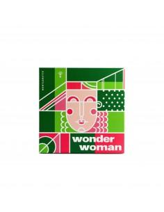 Подарочный набор Wonder Woman для Женщин MontCarotte 3 ед.