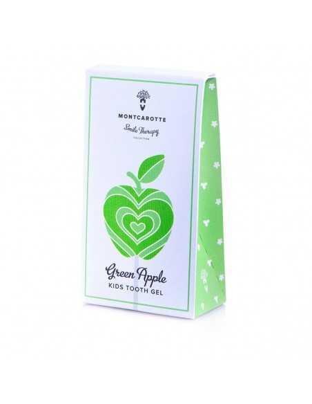 "Дитяча зубна паста ""Зелене Яблуко"" 0 + MontCarotte, 30 мл"