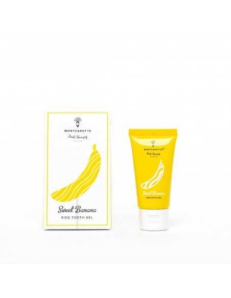 "Дитяча зубна паста ""Солодкий Банан"" 0 + MontCarotte, 30 мл"