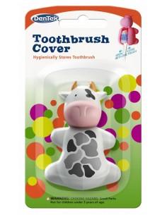 Футляр для зубных щеток DenTek, корова