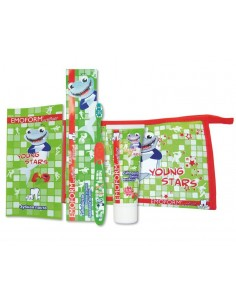 Детский набор для чистки зубов Dr.Wild Emoform Actifluor Youngstars Set