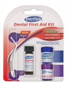 Набор первой стоматологической помощи DenTek Dental First Aid Kit