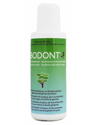 Ополаскиватель для полости рта TEBODONT-F с маслом чайного дерева (Melaleuca Alternifolia) и фторидом, 250 мл