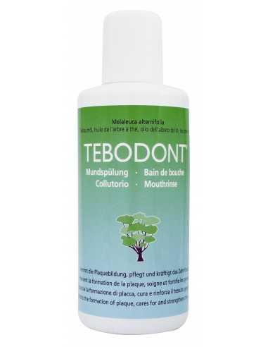Ополаскиватель для полости рта TEBODONT с маслом чайного дерева (Melaleuca Alternifolia), без фторида, 400 мл