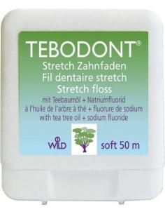 Зубная нить с маслом чайного дерева и фторидом натрия Dr. Wild Tebodont, 50 м