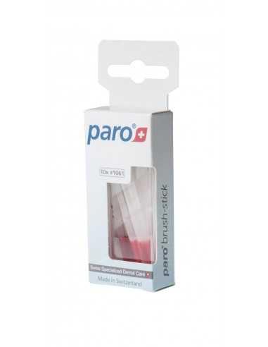 Зубні мікро-щітки Paro Swiss brush stick, 10 шт.