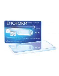 Зубная флосс-карта с зеркалом Dr.Wild Emoform Floss Card, 40 м