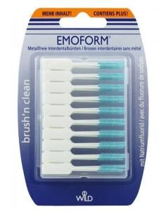 Безметалловые межзубные щетки с фторидом натрия XL Dr.Wild Emoform Brush'n Clean XL, 50 шт