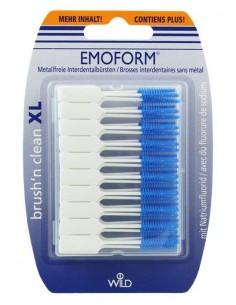 Безметалловые межзубные щетки без фторида натрия Dr.Wild Emoform Brush'n Clean, 50 шт