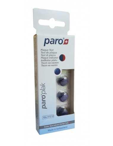 Таблетки 2-цветные для индикации зубного налета Paro Plak Tablets, 10 шт.