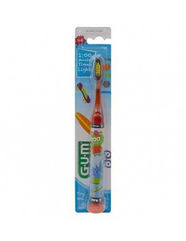 Зубна щітка Gum JUNIOR MONSTER LIGHT-UP, від 7 до 12 років