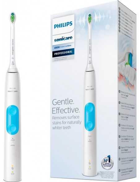 Звуковая зубная щетка Philips Sonicare Protective Clean 4500 White HX6888/90