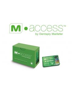 Эндодонтические инструменты (файлы) H-File M-Access № 10, длина 25 мм, 6 шт.