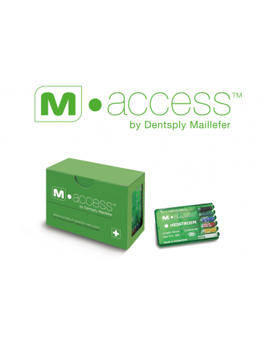 Ендодонтичні файли H-File M-Access № 15 - 40, довжина 31 мм, 6 шт.