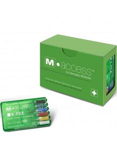 Эндодонтические инструменты (файлы) K-File M-Access № 10, длина 25 мм, 6 шт.