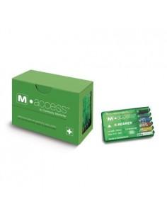 Эндодонтические инструменты (файлы) K-Reamer M-Access № 15 - 40, длина 25 мм, 6 шт.