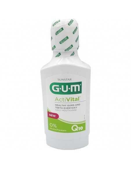 Ополаскиватель для полости рта GUM ActiVital, для ежедневного ухода, 300 мл