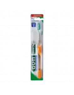 Зубная щетка GUM MICROTIP, компактная мягкая