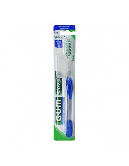 Зубная щетка GUM MICROTIP, полная, средне-мягкая