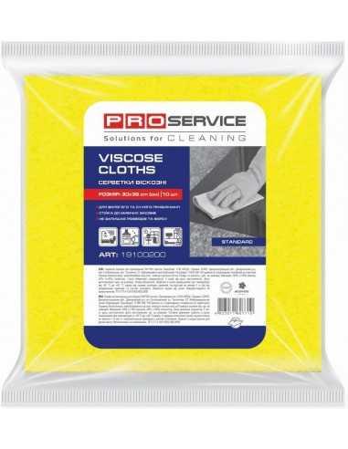 Серветки віскозні PRO Service, 30х38 см, 10 шт.