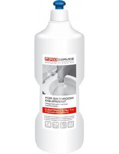 """Средство для мытья и дезинфекции сантехники PRO Service, Сантри-гель """"Лимон"""", 1 л"""