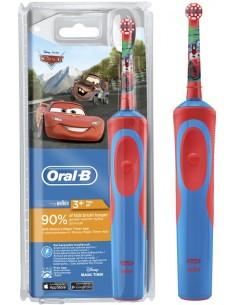 Детская электрическая зубная щетка Oral-B Stages Cars, від 3-х років