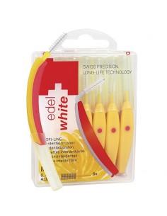 Щетки Edel White Profi-Line для межзубных промежутков M-0,7/4,0 мм, 6 шт.