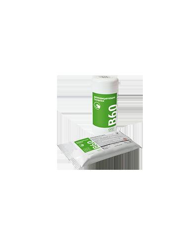 Дезинфицирующие салфетки для поверхностей B60 (в упаковке)