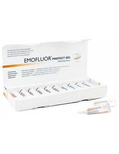 Профессиональный гель для защиты зубов Emoflour Professional Protect Gel, 10x3 мл
