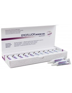 Професійний гель для чутливих зубів Emofluor Professional Desens Gel, 10х3 мл
