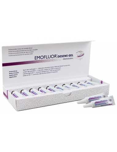 Профессиональный гель для чувствительных зубов Emoflour Professional Desens Gel, 10х3 мл