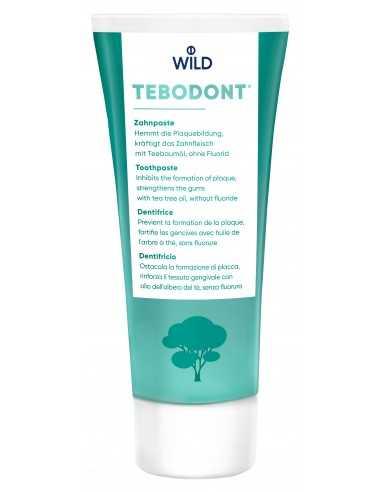 Зубная паста с маслом чайного дерева Dr. Wild Tebodont (Melaleuca Alternifolia) без фтора, 75 мл