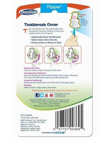 Футляр для зубних щіток DenTek, черепаха