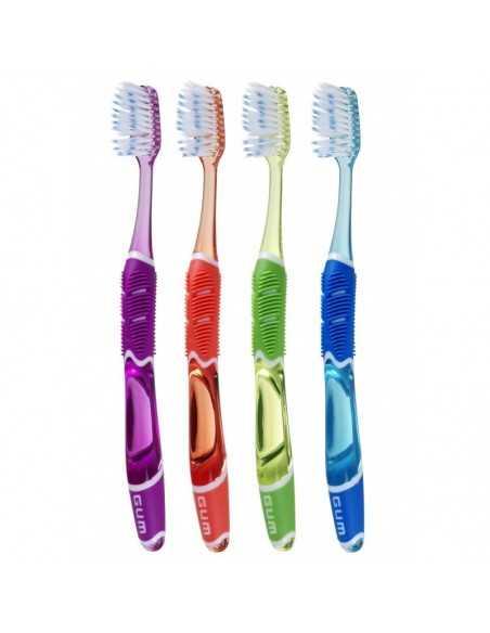Зубная щетка GUM TECHNIQUE PRO FULL MEDIUM, полная, средне-мягкая