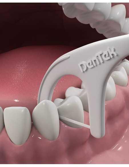 """Флосс-зубочистки для задних зубов """"Комфортное очищение"""" DenTek, 75 шт."""