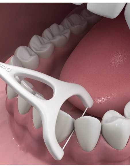 """Флосс-зубочистки для задних зубов """"Комплексная очистка"""" DenTek, 75 шт."""