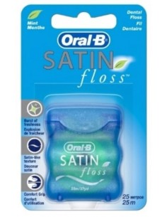 Зубна нитка Oral-B Satin Floss, 25 м
