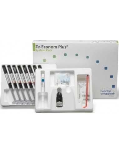 Набор микрогибридных композитов TE-Econom Plus System Pack, 8x4 г