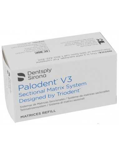 Набор стоматологических матриц Palodent V3 Matrix System 7,5 мм, 50 шт.