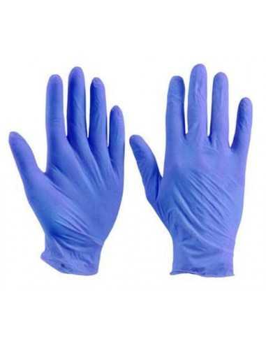 Перчатки медицинские нитриловые нестирильный Polix PRO&MED (100 шт./уп) цвет: Ice blue