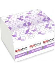 Туалетная бумага в листах PRO Service Comfort eco целлюлозная двухслойная, 250 шт./уп.