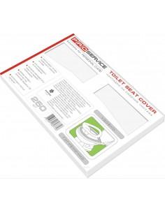 Накладки на сидения унитаза PRO Service 1/2, 250 шт./уп.