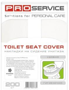 Накладки на сидіння унітазу PRO Service 1/4, 200 шт./уп.