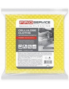 Салфетки целлюлозные PRO Service, 18х18 см, 5 шт./уп., желтые