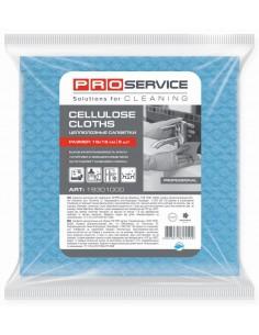 Серветки целюлозні PRO Service, 18х18 см, 5 шт./уп., сині